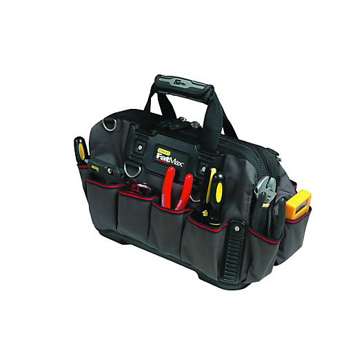 stanley fatmax heavy duty tool bag 18in. Black Bedroom Furniture Sets. Home Design Ideas