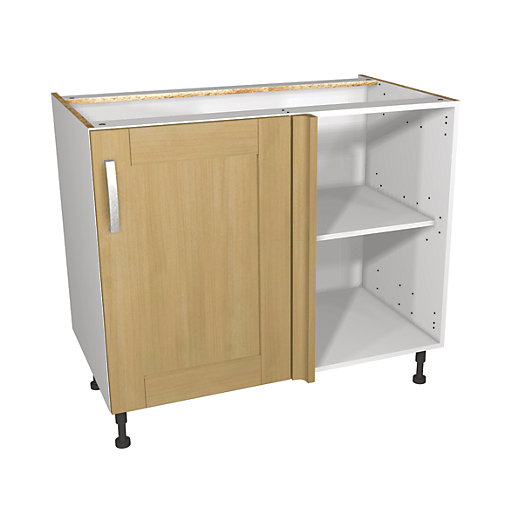 Lovely Wickes Tulsa Corner Base Unit 1000mm | Wickes.co.uk