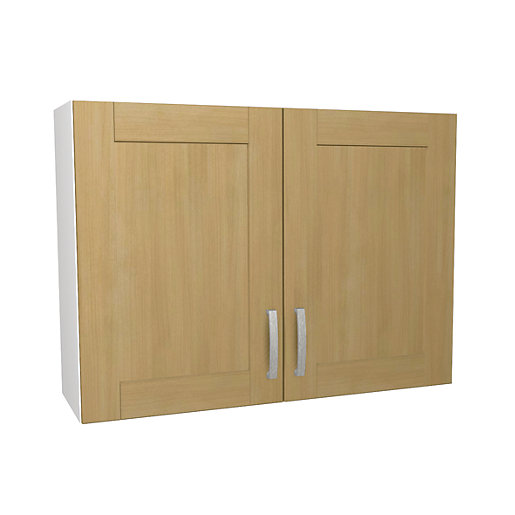 Wickes tulsa wall unit 1000mm for 1000mm kitchen drawer unit