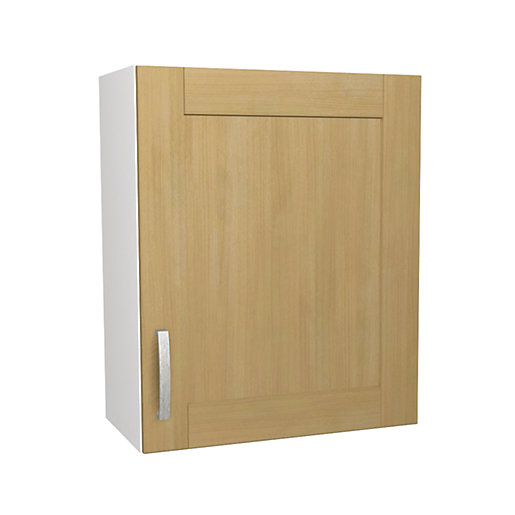 Wickes tulsa wall unit 600mm for Wickes kitchen cupboards