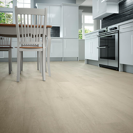 Norcia oak luxury vinyl flooring for Cheap lino flooring and fitting