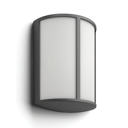 Outside Lights Wickes: Philips Stock LED Wall Light - 6W