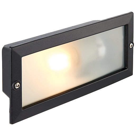 Wickes Garden Wall Lights : Wickes Garden Wall Brick Light - 40W Wickes.co.uk