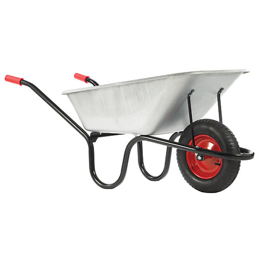Chillington County Galvanised Wheelbarrow 120l Wickes Co Uk