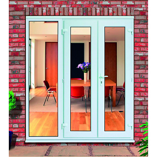 Wickes upvc french doors 6ft with 1 side panel 600mm for French doors with side windows that open