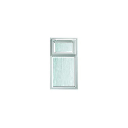 Wickes Upvc A Rated Casement Window White 610 X 1010mm Top