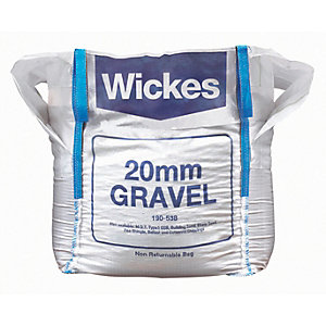 Wickes 20mm Gravel Jumbo Bag