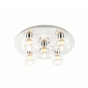 Bathroom Ceiling Lights Bulbs bathroom lights - lighting -decorating & interiors | wickes