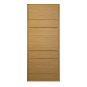 Wickes Oslo External Oak Veneer Door 1981 x 762mm