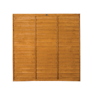 Wickes Overlap Fence Panel 6ft x 6ft