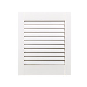 Wickes Internal Closed Louvre Door White Primed 457 x 381mm