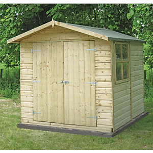 Garden Sheds 7 X 14 timber sheds - garden sheds & buildings -gardens | wickes