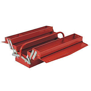 Hilka 5 Tray Cantilever Tool Box - Red 541mm