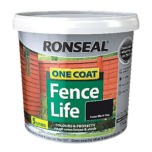Marvelous Products  Wickescouk With Fair Ronseal One Coat Fencelife Black Oak L With Nice Blue Garden Bench Also Coloured Garden Pebbles In Addition Harry Dodson Gardener And Garden Flame Thrower As Well As Rhs Az Encyclopedia Of Garden Plants Additionally Riggs Garden Centre Walsden From Wickescouk With   Fair Products  Wickescouk With Nice Ronseal One Coat Fencelife Black Oak L And Marvelous Blue Garden Bench Also Coloured Garden Pebbles In Addition Harry Dodson Gardener From Wickescouk