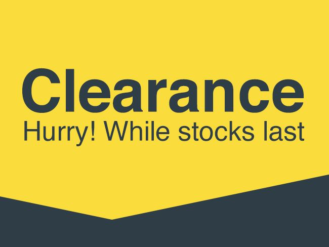 Shop all Clearance offers