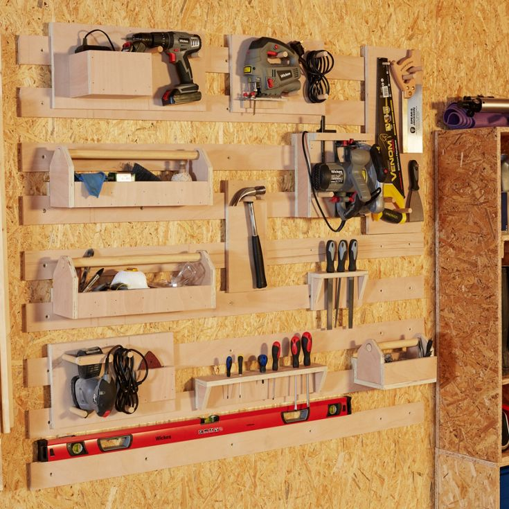 How to make a French cleat tool system