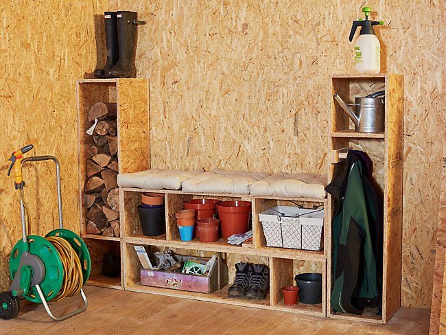 Build your own tool store wall rack
