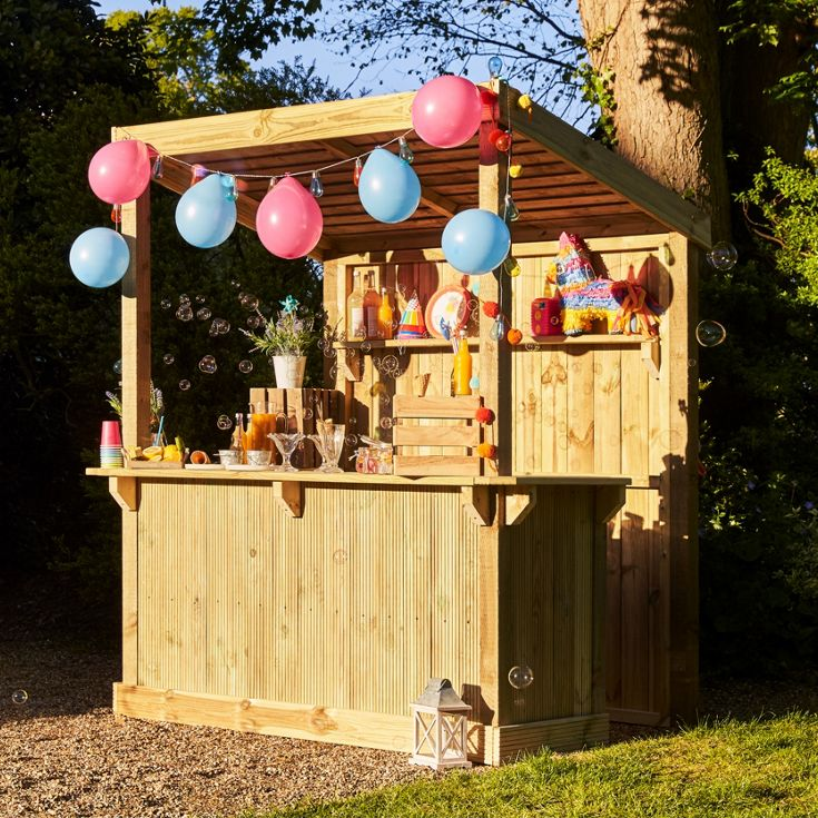 Build your own garden bar from scratch