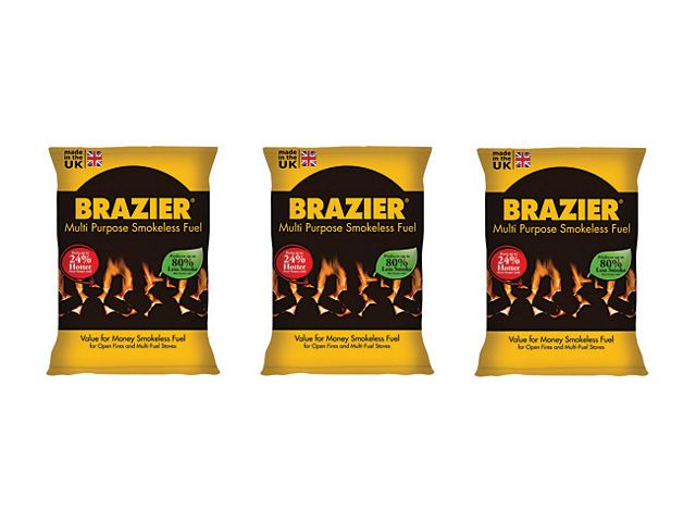 Brazier Smokeless Coal Bag 10kg
