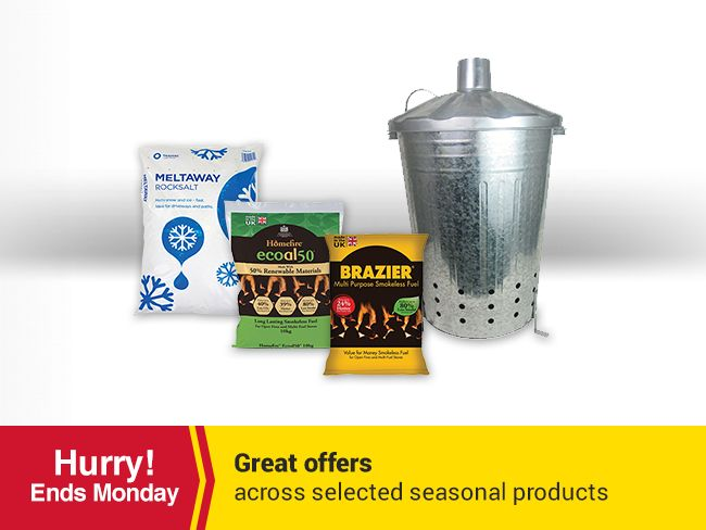 Great offers across selected seasonal products