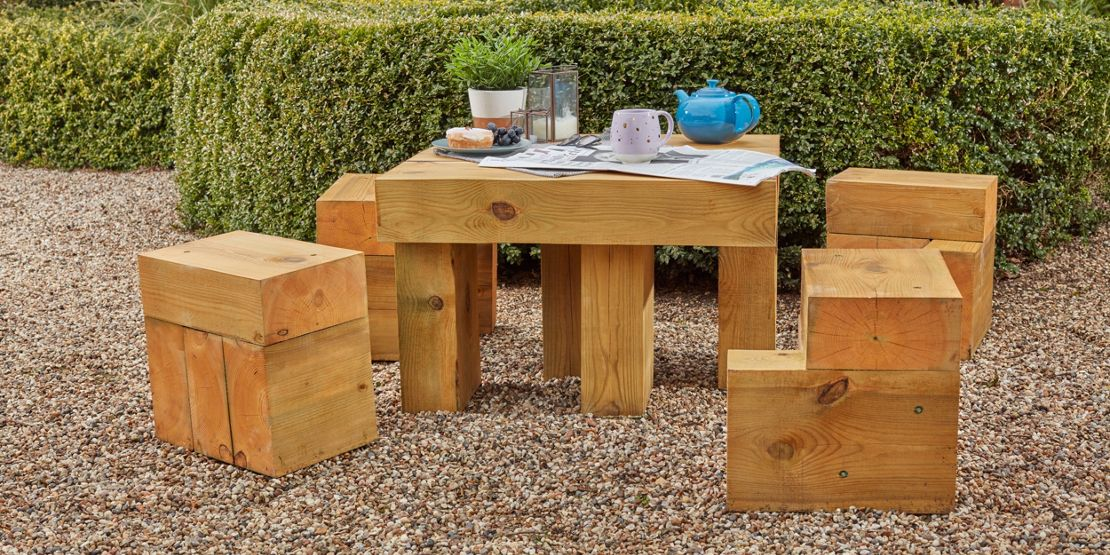 Sleeper garden furniture