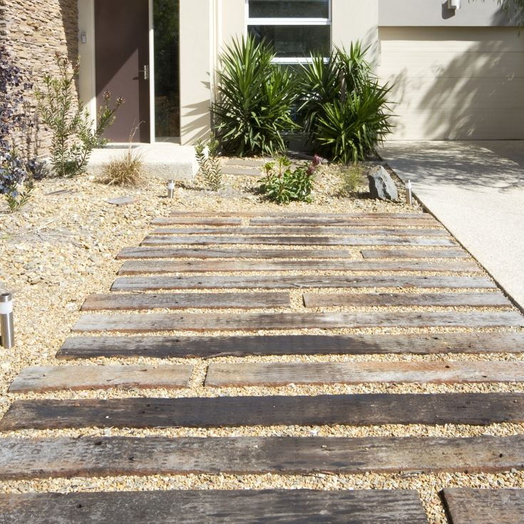 How to lay a sleeper pathway