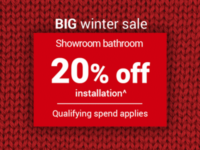20% off showroom B installation