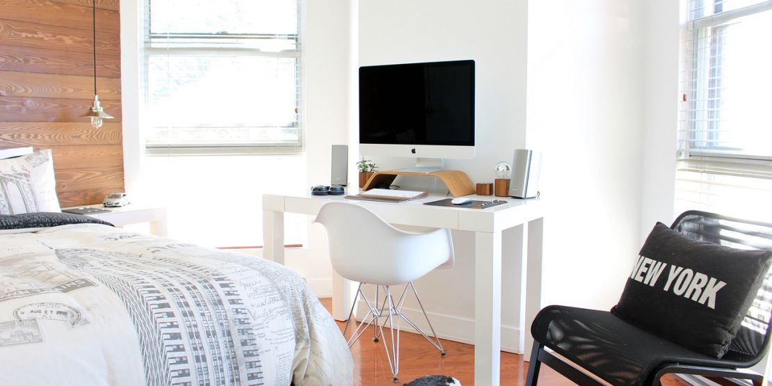 Space saving hacks for home offices