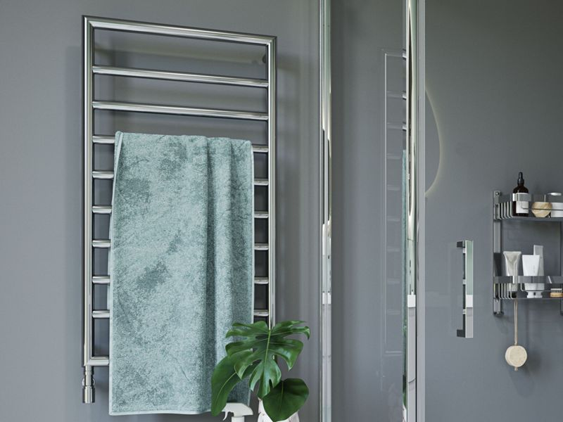 Everyone of our stylish towel radiators come with a 10 year guarantee.
