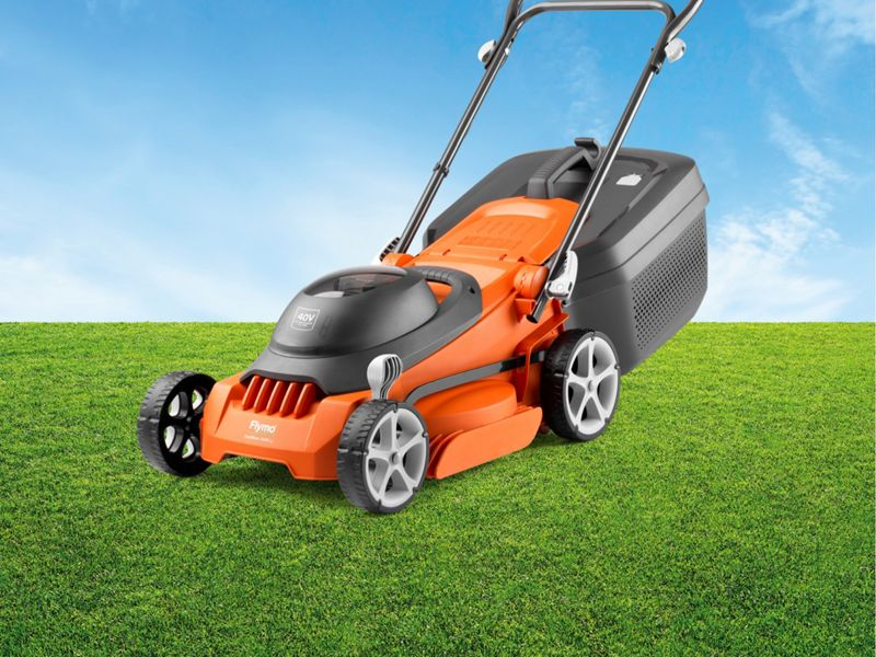 Flymo EasiStore 340R Rotary Lawnmower