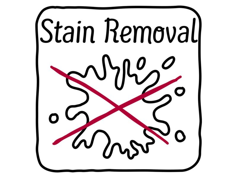 Stain removal programmes