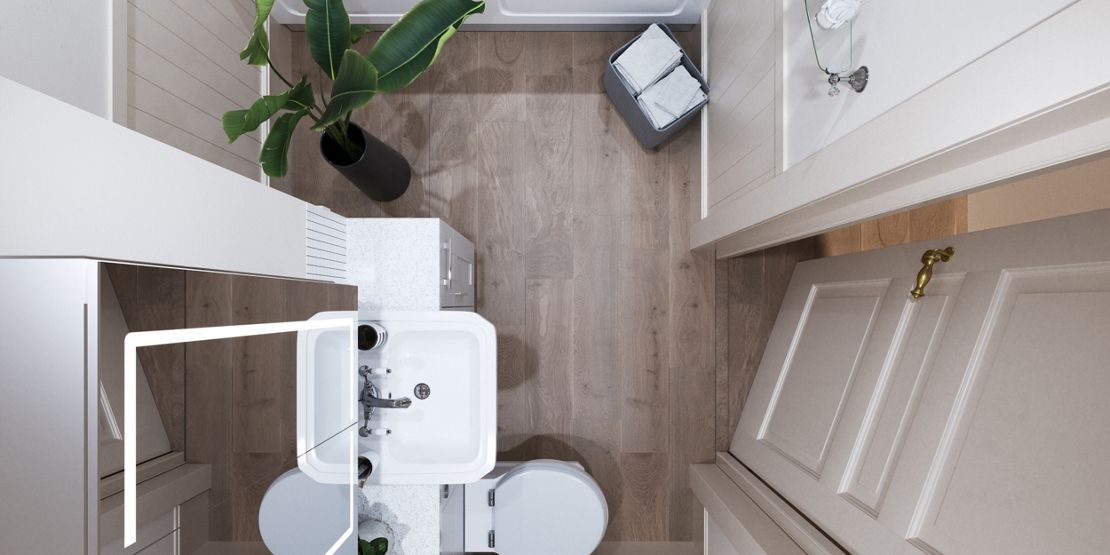 Small Bathrooms: Making the most of your space