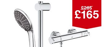 Grohe Cosmo Thermostatic Mixer Shower