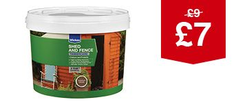 Shed & Fence Timbercare - 9L
