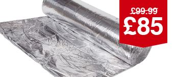 YBS Multifoil 40mm Insulation Roll - 1.2 X 10M