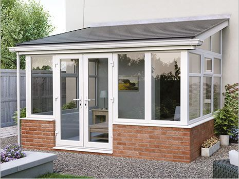 Conservatory lean to conservatory wickes for Adding a conservatory