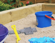 How to: Build a sand pit