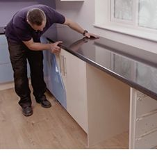 How to Fit Kitchen Worktop