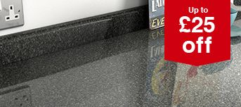 Up to £25 off Kitchen Worktops