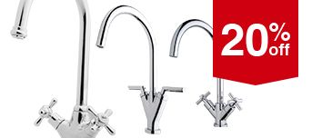Selected Kitchen Taps