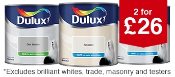 Dulux 2 for £26