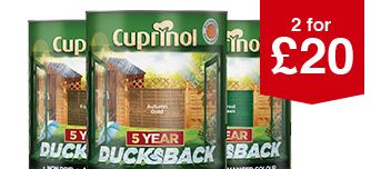 Selected Cuprinol 5 Year Ducksback 5L