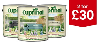 Selected Cuprinol Garden Shades 2.5L