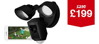 Ring Motion-Activated Floodlight Camera