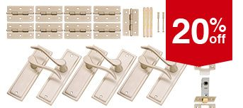 Selected Latch Handle Sets