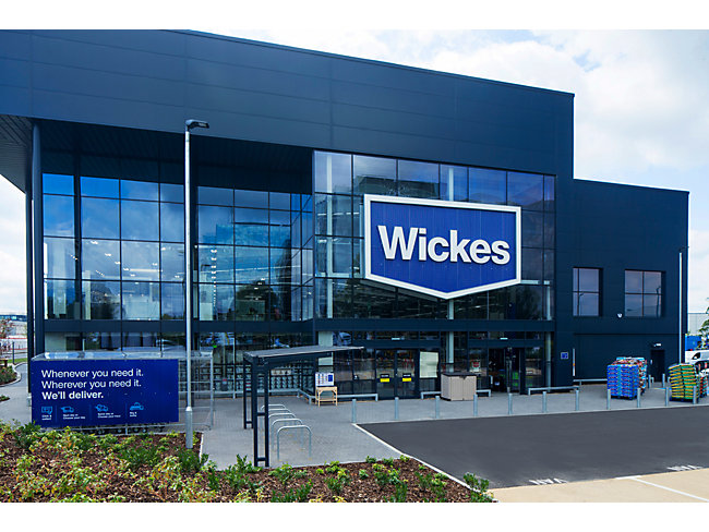 Find your nearest Wickes showroom
