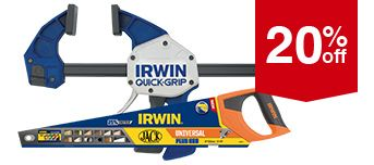 Selected Irwin Hand Tools
