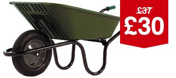 Haemmerlin Polypropylene Wheelbarrow 90L