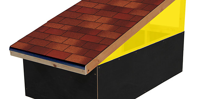 How To Fit Roofing Shingles Wickes Co Uk
