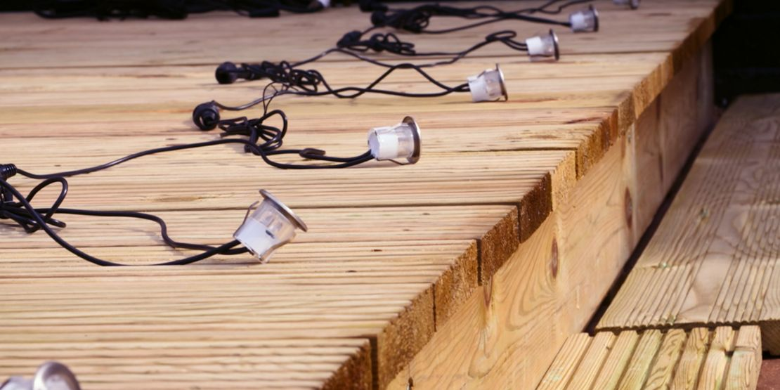 How To Install Deck Lighting Wickes Co Uk